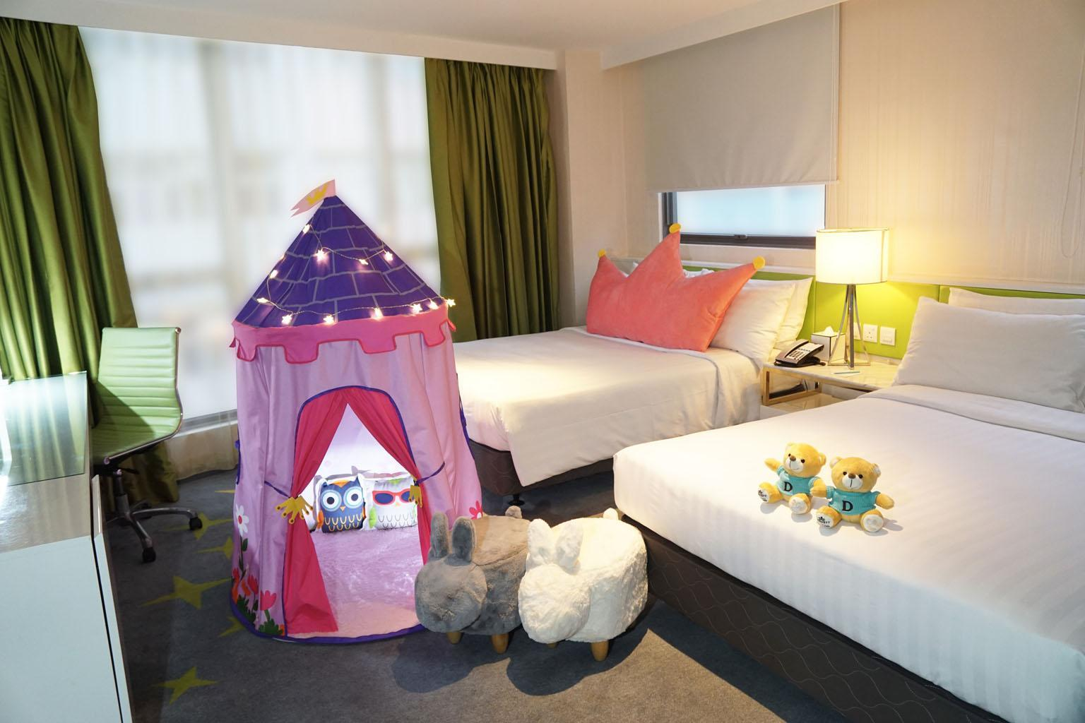 Dorsett Family Theme Room with Children Amenities