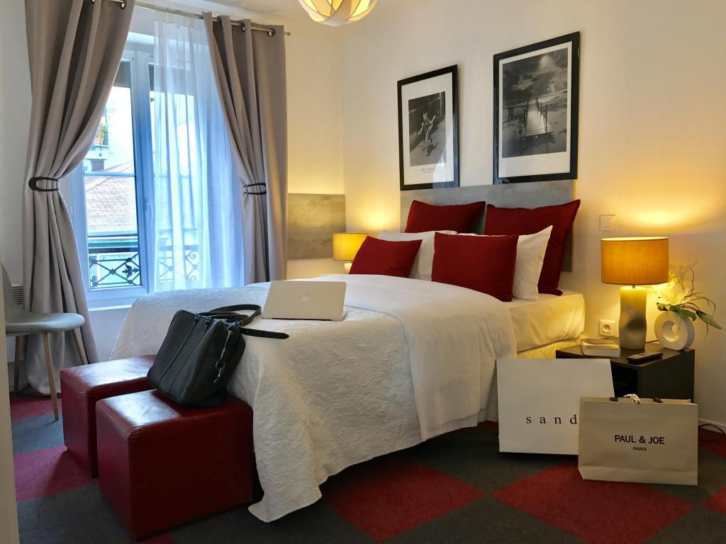 Chambre Hotel Clairefontaine