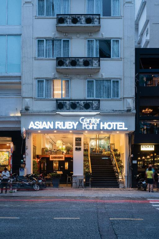 Интерьер Asian Ruby Center Point Hotel