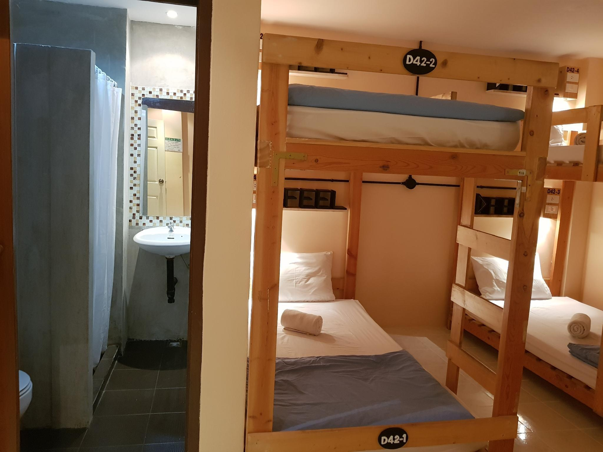6人男女混合宿舍 (6-Bed Mixed Dormitory Room)