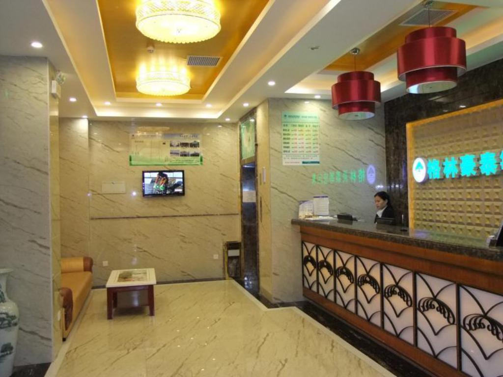 Стойка регистрации   Greentree Inn Longcheng Square Shell Hotel
