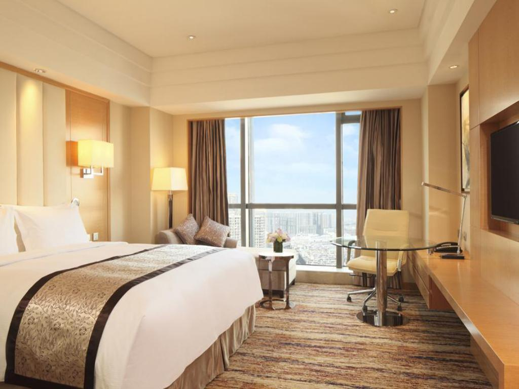 Room with King Bed - Accessible - Bilik tetamu DoubleTree by Hilton Hotel Wuhu