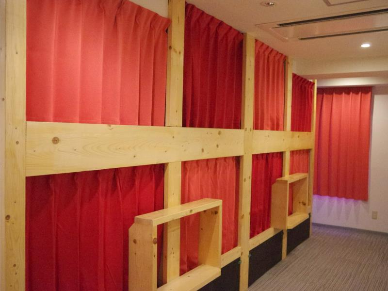 8 베드 도미토리 (여성) 공용욕실 (1 Bed in 8-Bed Dormitory (Female) with shared bathroom)