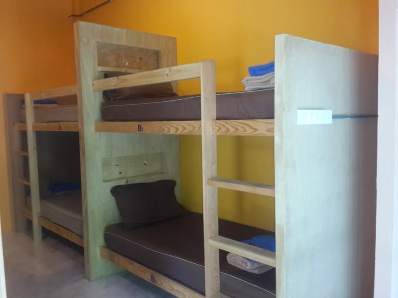 Habitación de 8 Camas (Mixta) (8-Bed Dormitory (Mixed))