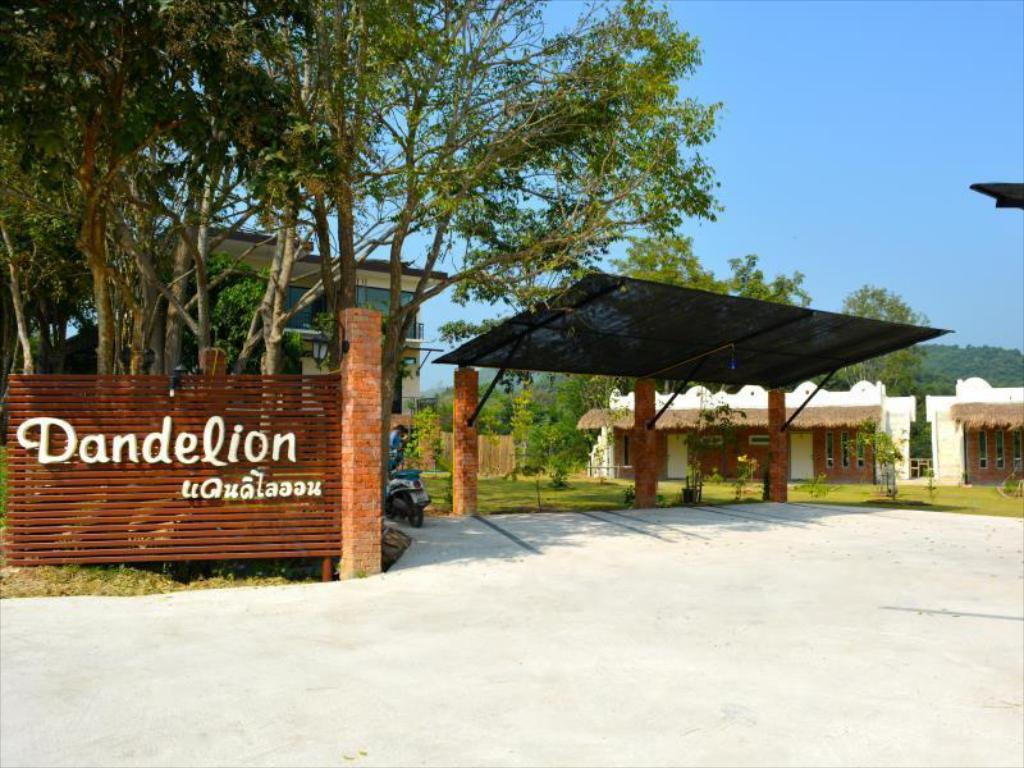 Entrance Dandelion Resort