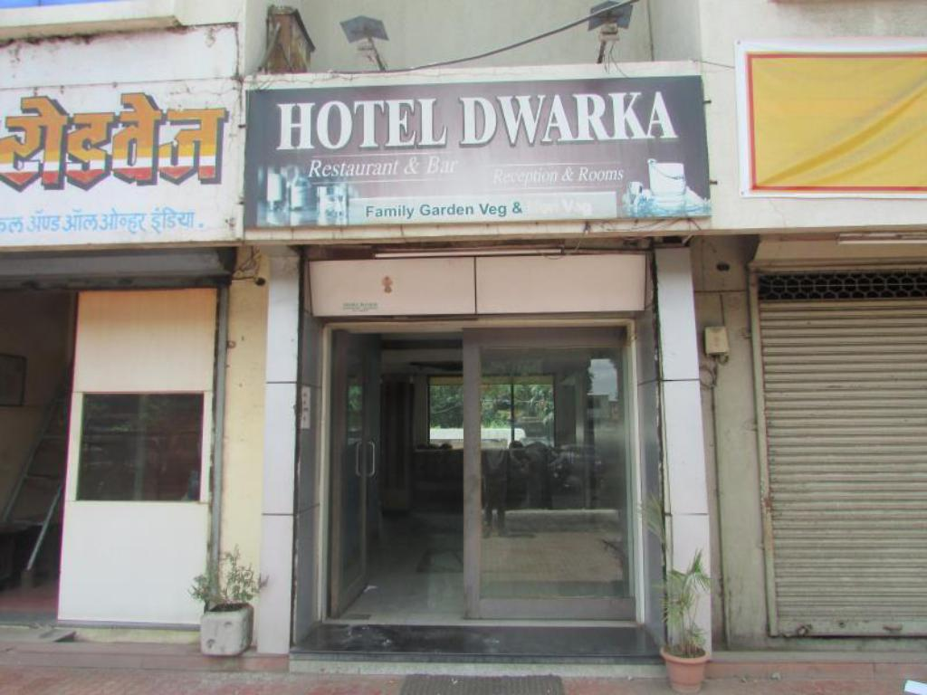 Entrance Dwarka Hotel