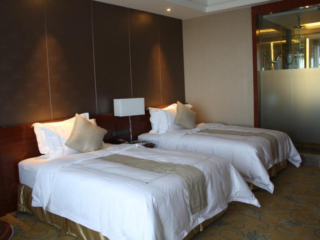 Superior Twin Bed - Bed Grand Skylight International Hotel Wu Hai