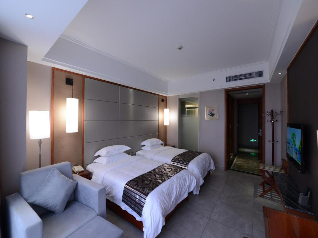 Superior Twin Bed - Guestroom Qionghai Haoquan Boutique Hotel