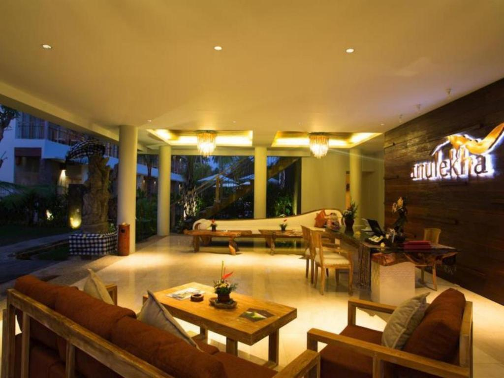 Lobby Anulekha Resort and Villa