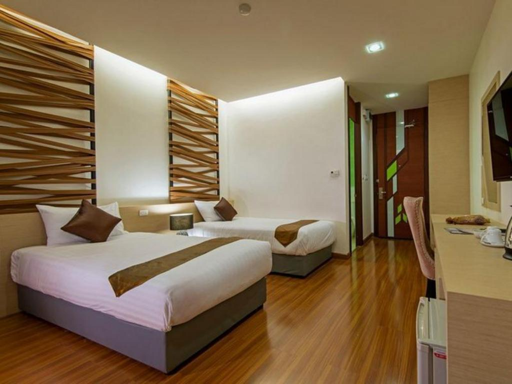 Superior Twin Bed - Guestroom Korapura Resort