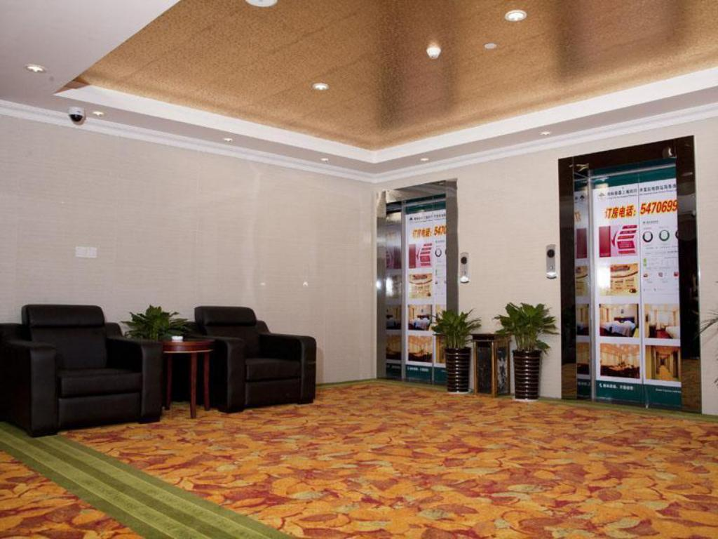 Interior view GreenTree Inn Shanghai Minhang Development Zone Subway Station Business Hotel
