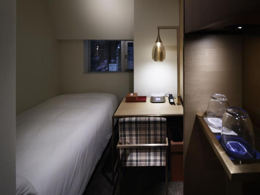 Economy Single - Room plan Shinjuku Granbell Hotel