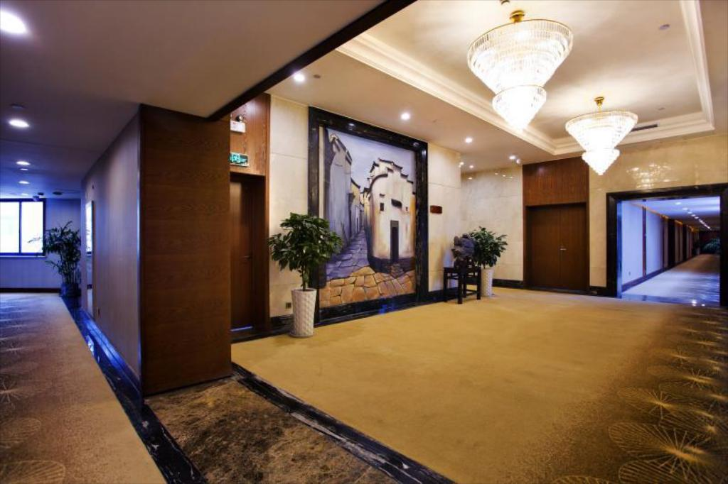 Hotellet indefra Huangshan Joymoon Hotel