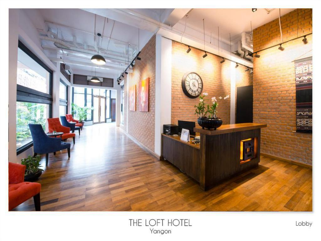 Empfangshalle The LOFT Hotel Downtown Yangon