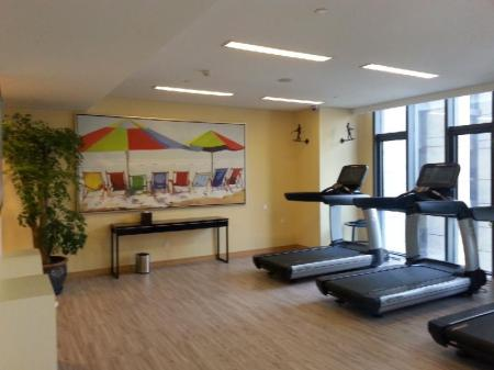 fitnesscentrum Holiday Inn Express Beijing Yizhuang