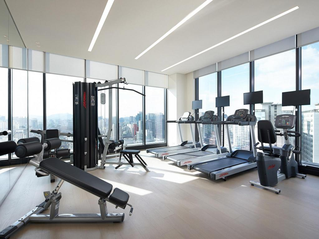 Fitnes center Shilla Stay Dongtan