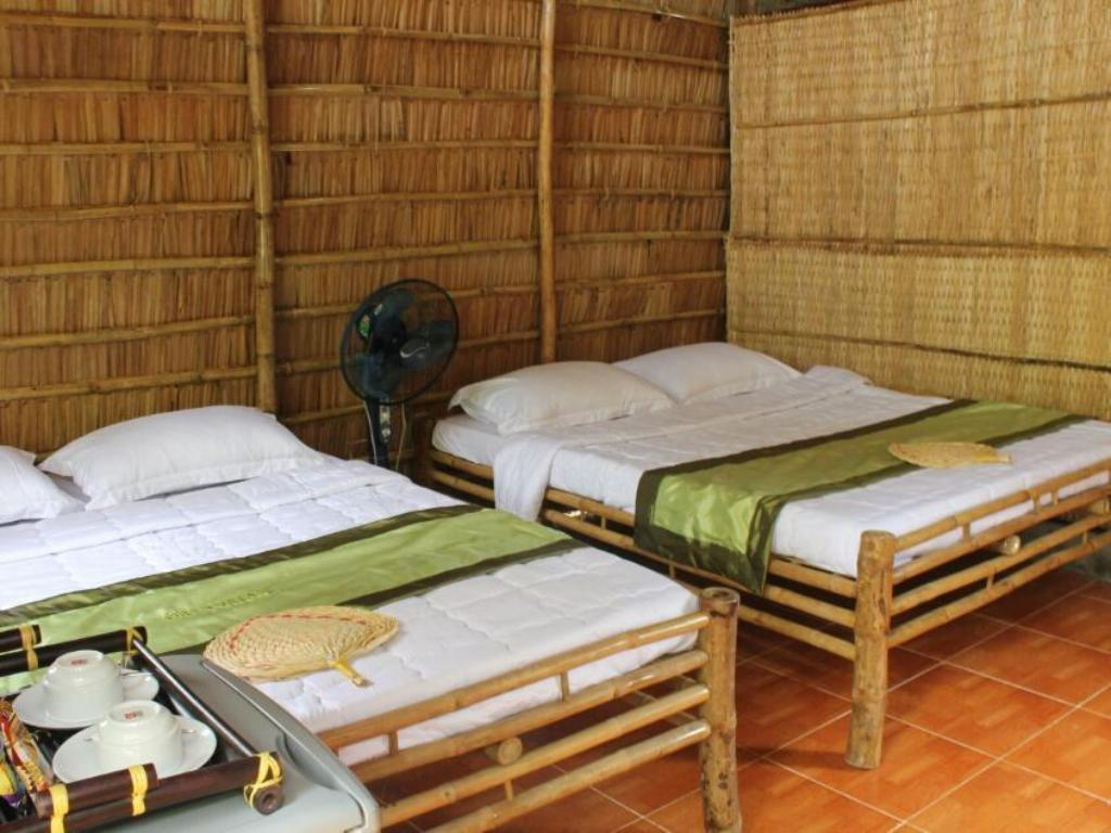 Bungalow 4 Pax - Bed Green Village 1