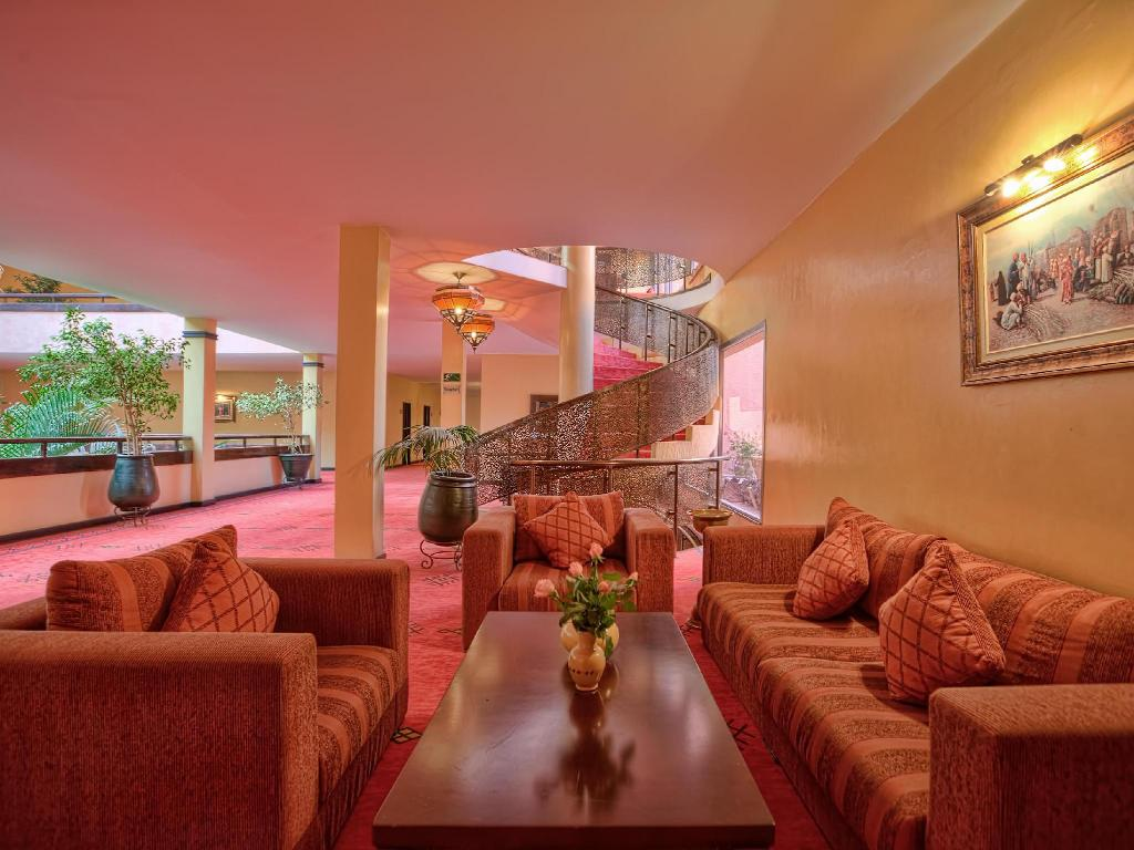 Interior view Hotel Marrakech Le Semiramis
