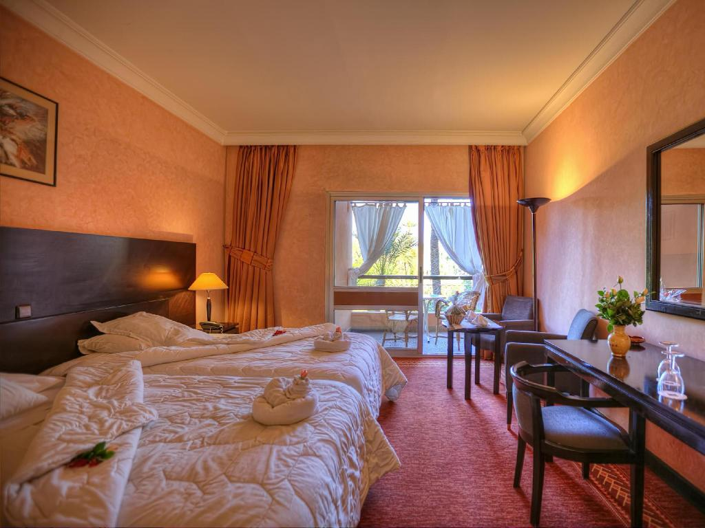 Single with Balcony - Guestroom Hotel Marrakech Le Semiramis