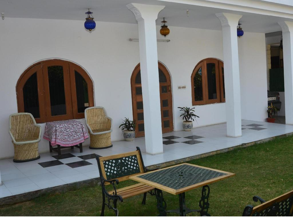 Viesnīcas interjers Rampura Kothi-Bed and Breakfast