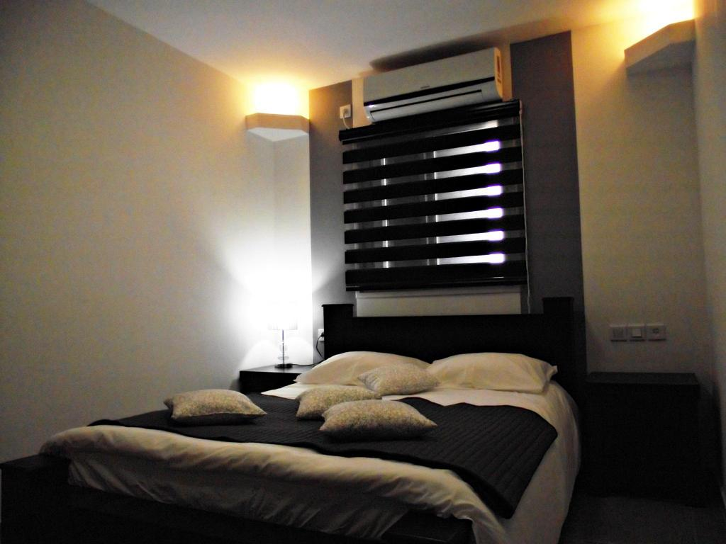 Studio - Denah kamar City Apartments