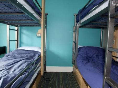 Bunk Bed in Female Dormitory Room   YHA London St Pauls Hostel