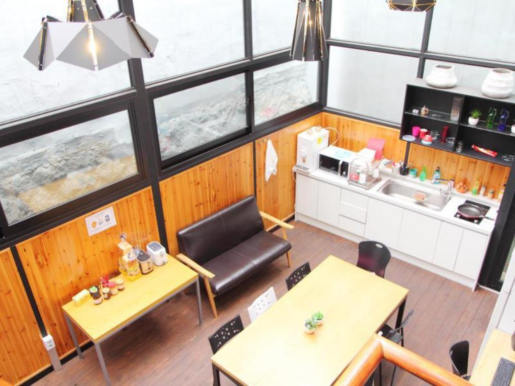 Интерьер Myeongdong Global Hostel