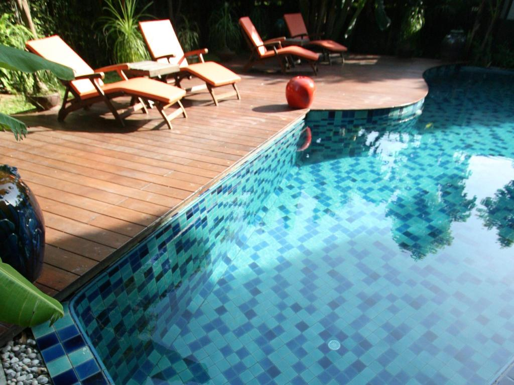 Swimming pool Phuket Botanic Resort