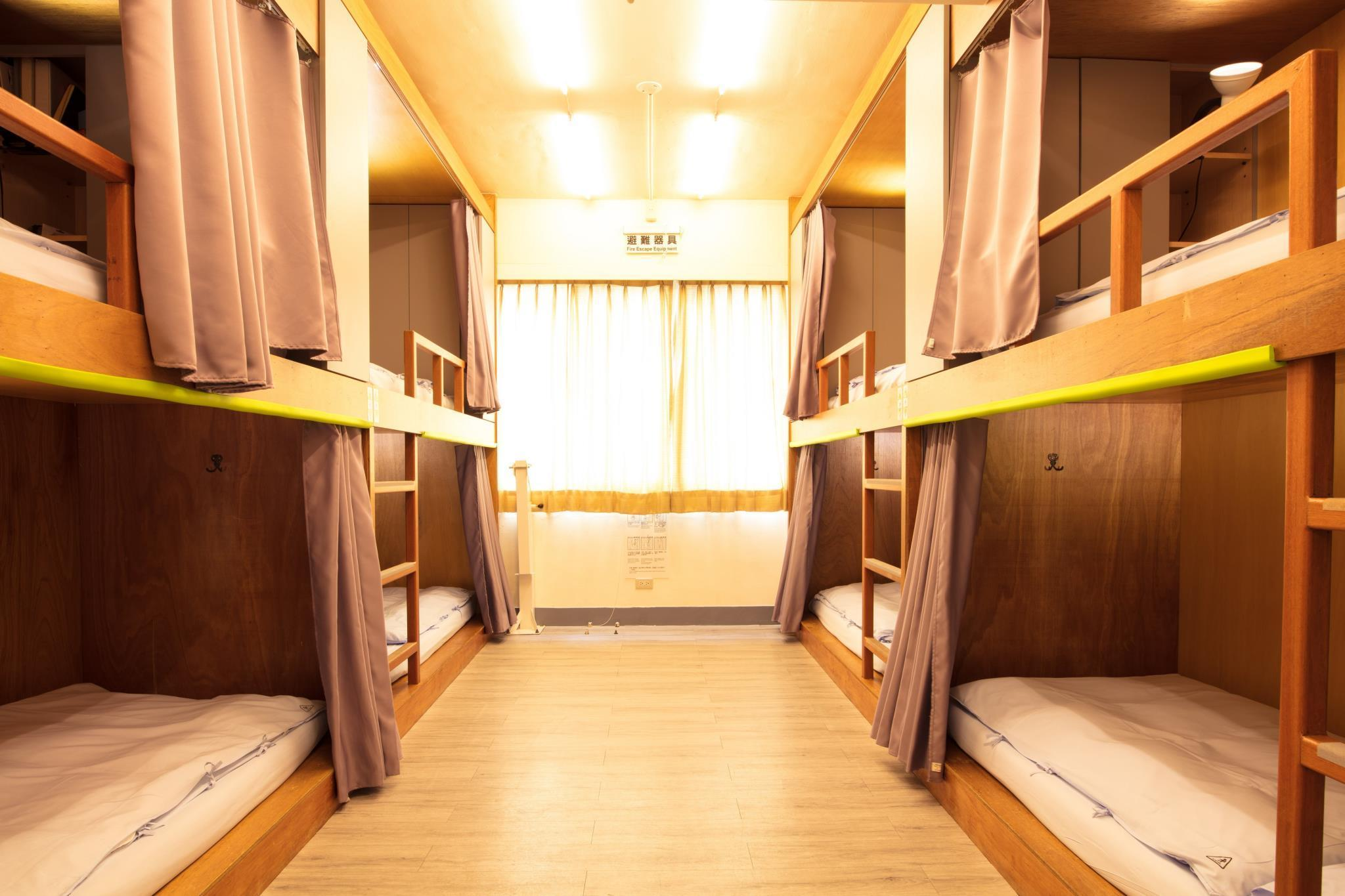 1 persona en habitación compartida de 8 camas ‒ Mixta (1 Person in 8-Bed Dormitory - Mixed)