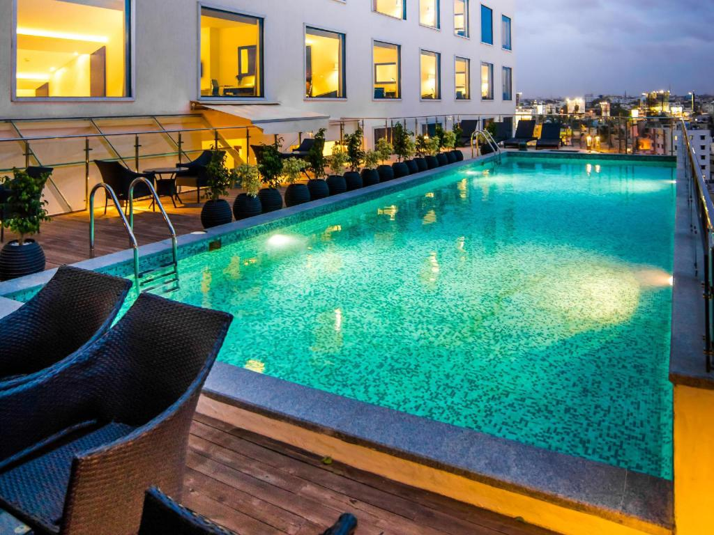 Swimming pool [outdoor] Howard Johnson Bengaluru Hebbal Hotel