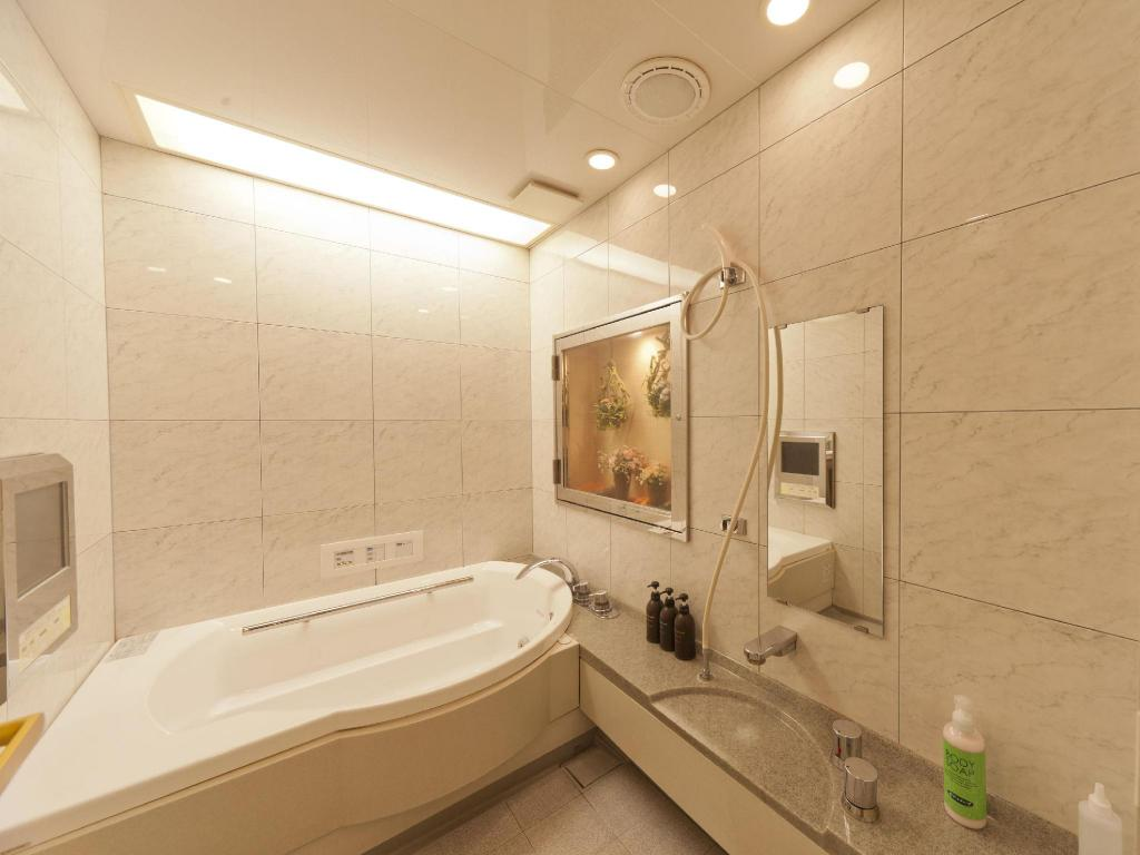 Baño Hotel Olive Sakai Free Parking - Adult Only
