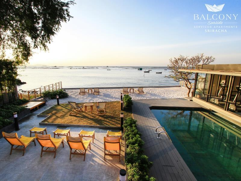 Best Price on Balcony Seaside Sriracha Hotel Serviced Apartments