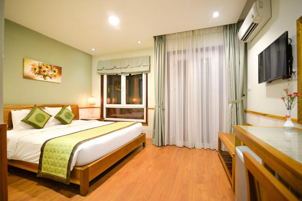 Quarto Superior Duplo com varanda - Quartos Green Heaven Hoi An Resort and Spa