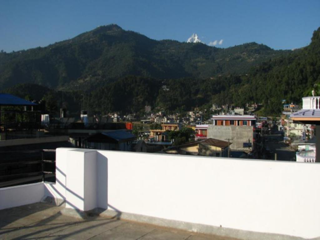 Balcony/terrace Hotel Gurkha Summit