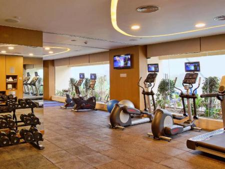 Fitness center Novotel Ahmedabad Hotel - An AccorHotels Brand