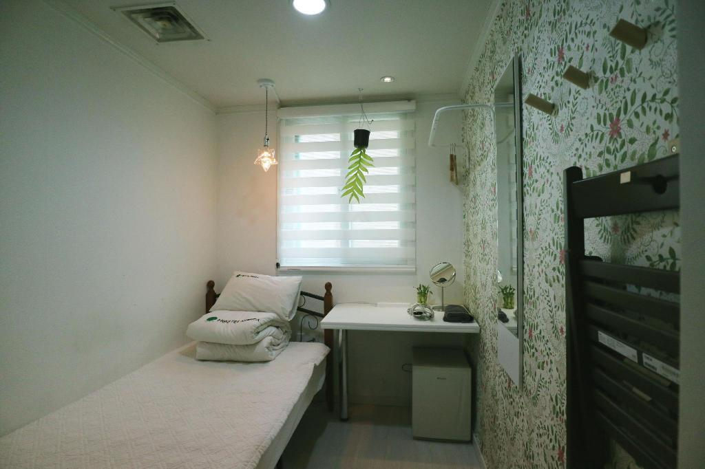 Single - Shared Bathroom - Room plan Hostel Korea Original Guesthouse