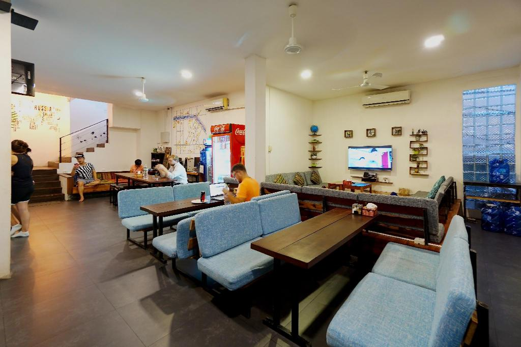 Lobi One Stop Hostel Siem Reap
