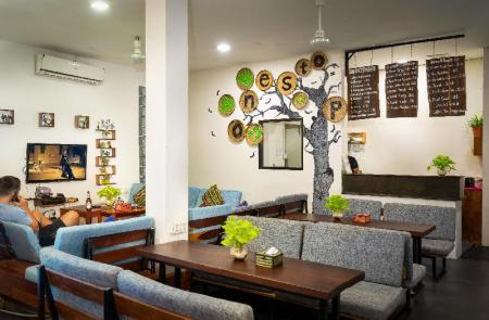 Lobby One Stop Hostel Siem Reap