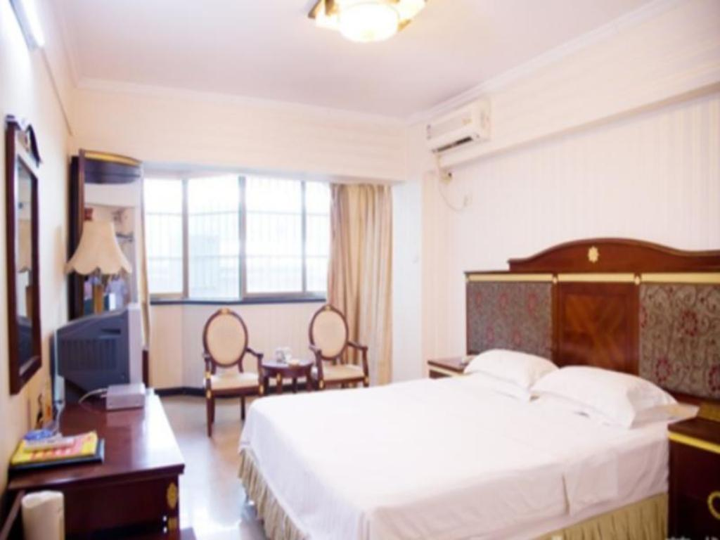 Hot Deal King Bed - Guestroom Nanning Gold Red Forest Hotel