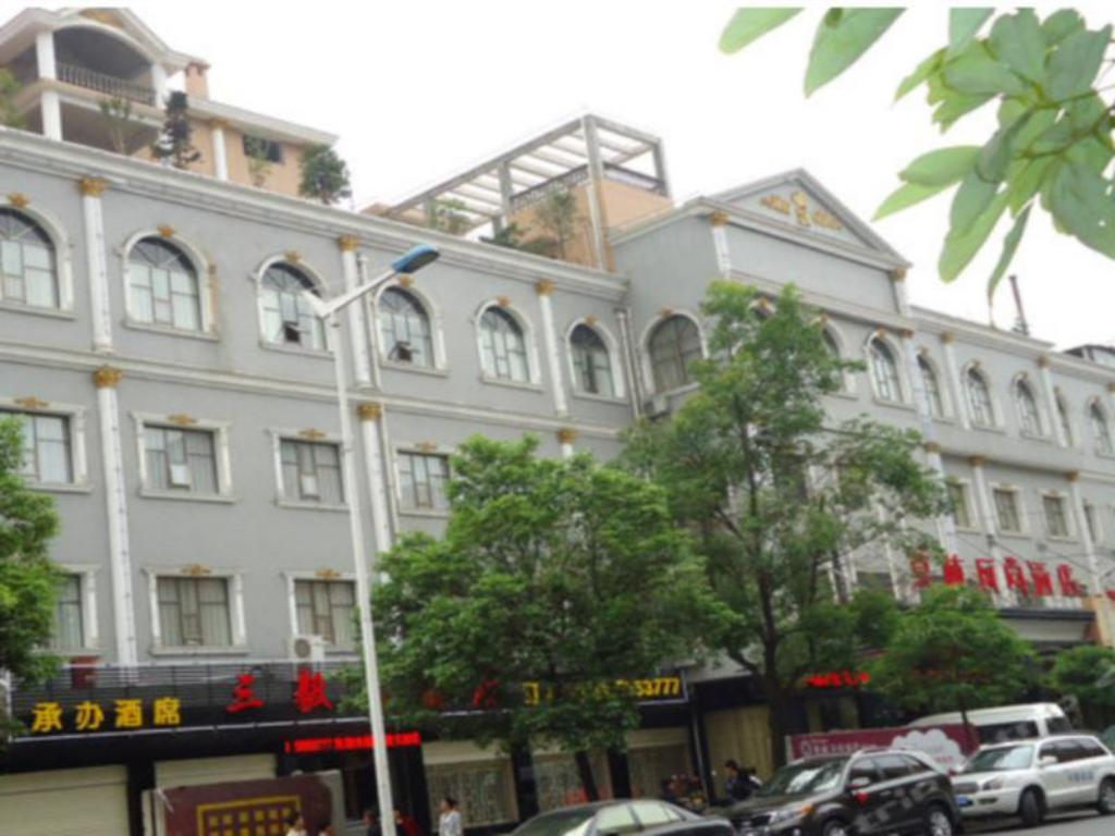 Zunanjost Morninginn Lengjiang No.1 Branch