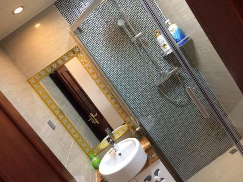 Μπάνιο Guangzhou Royal River Waifiden Apartment