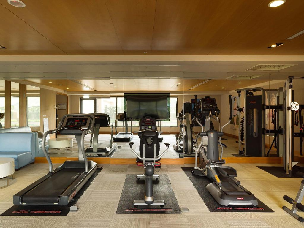 Fitness center Fushin Hotel-Taipei