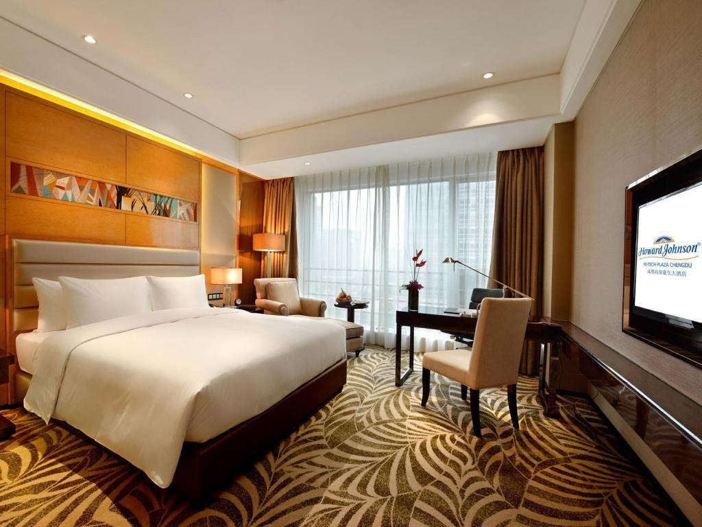 Deluxe Room - Guestroom Howard Johnson Hi-Tech Plaza Chengdu