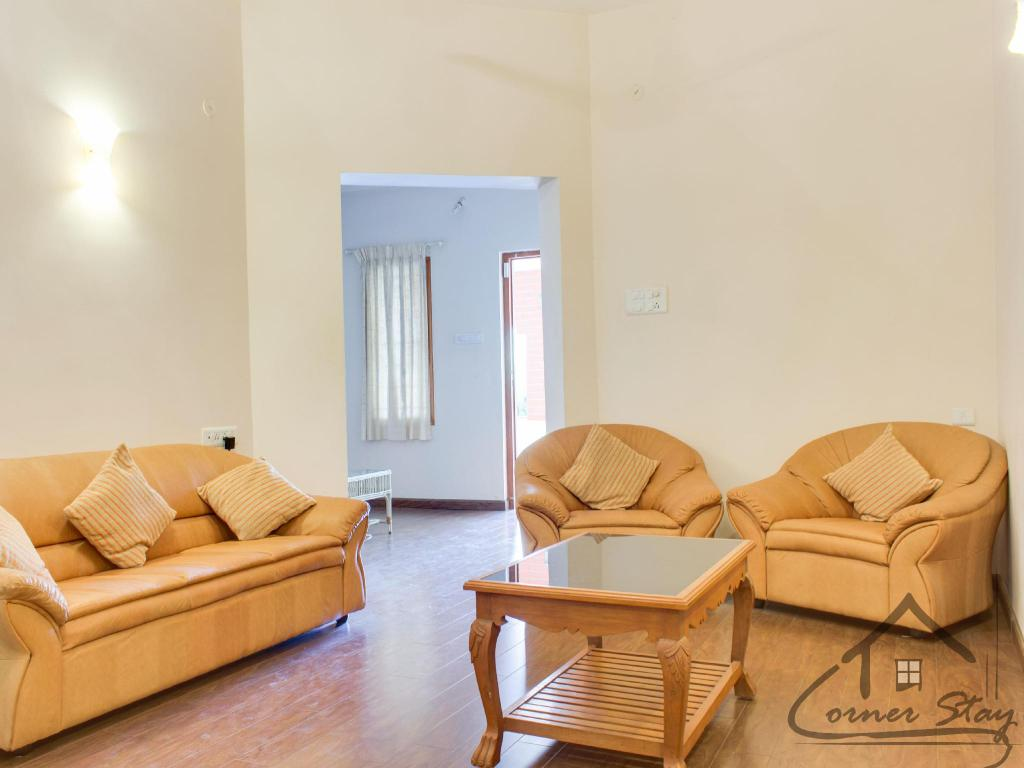 Notranjost Corner Stay Serviced Apartment- Singanallur