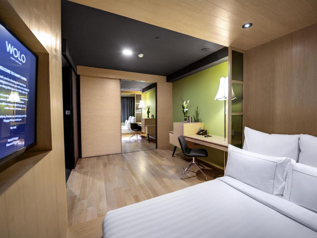 My Room Queen Bed Or Twin Bed - without Window - Guestroom Wolo Bukit Bintang Hotel