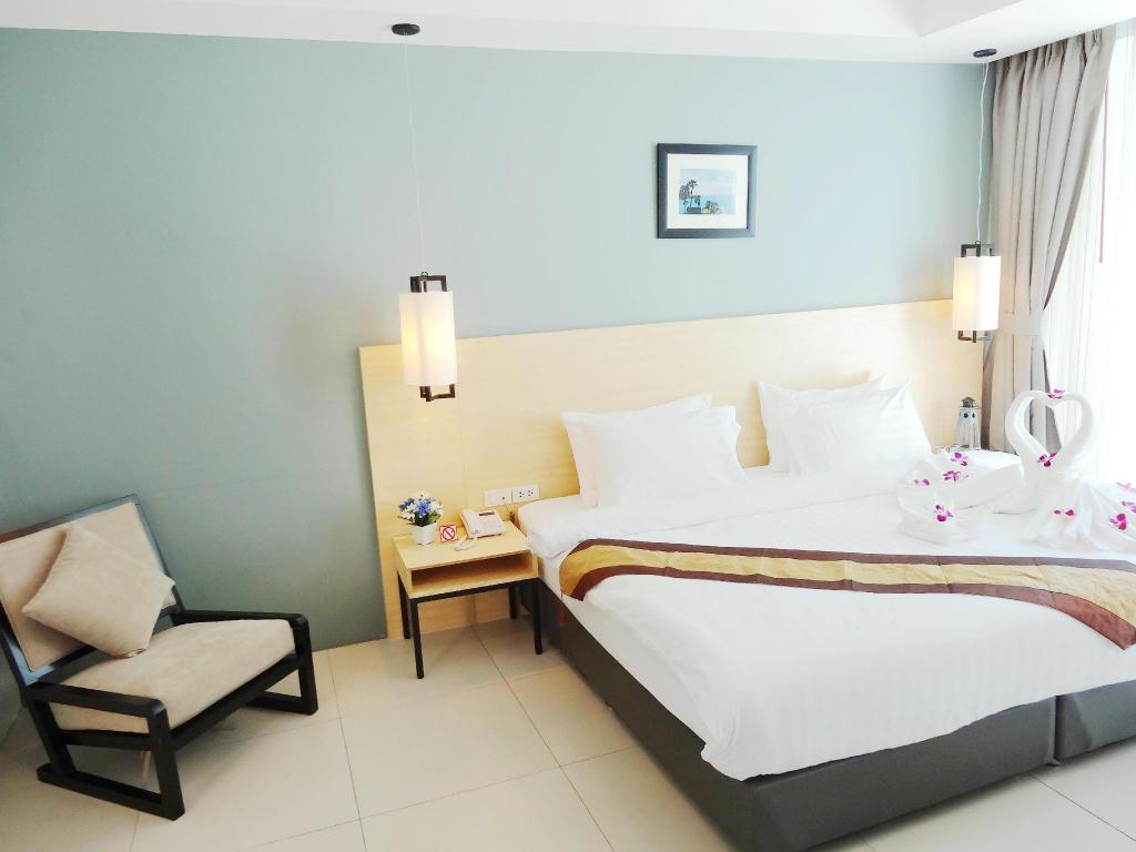 Deluxe con acceso a la piscina - Cama Good Day Phuket Boutique Bed and Breakfast