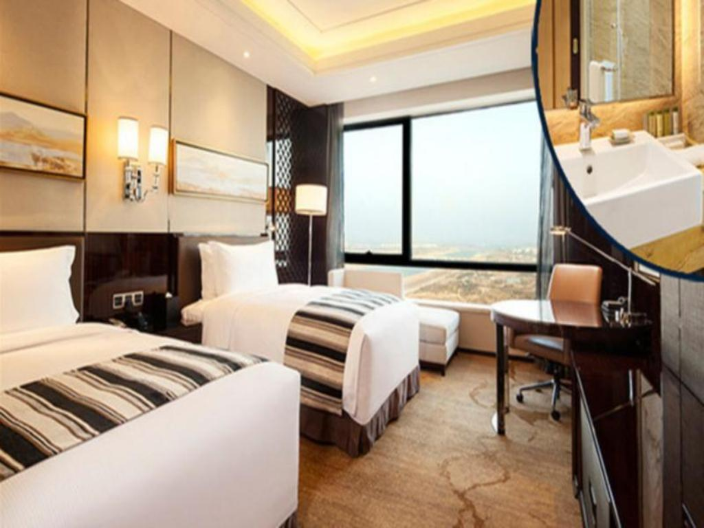 King Accessible Guest Room - Guestroom DoubleTree by Hilton Hotel Anhui-Suzhou