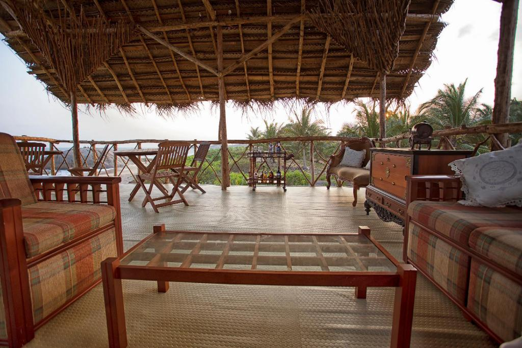 Lobby The Beach Camp Yala