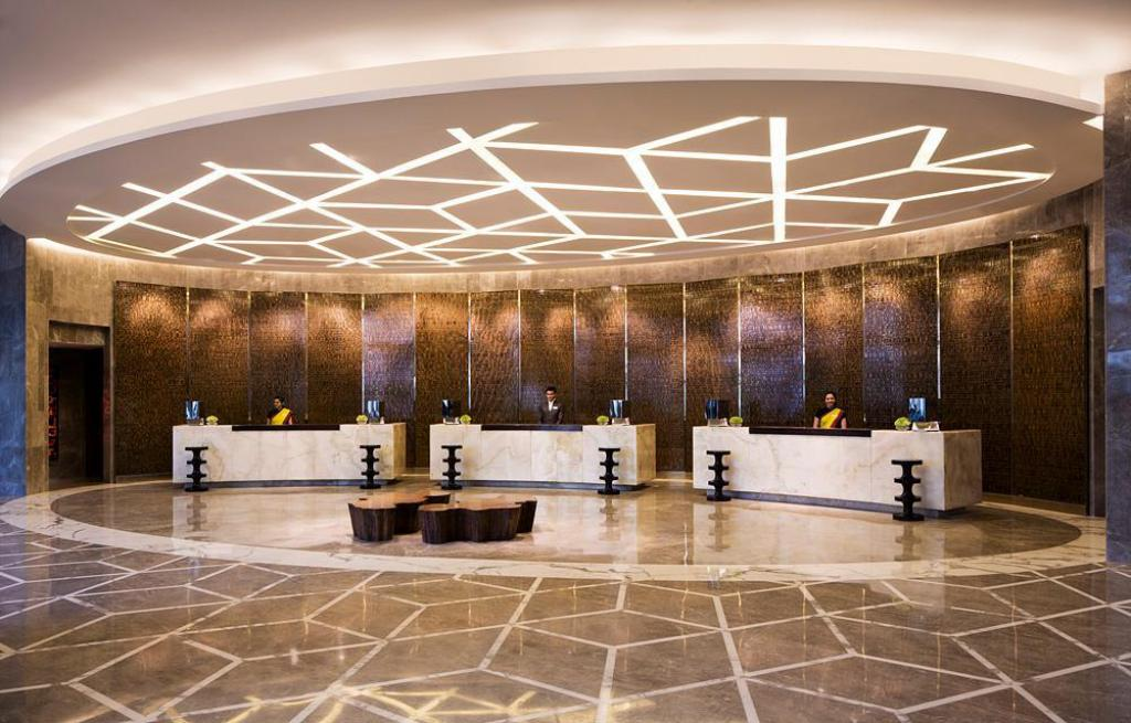 Αίθουσα υποδοχής JW Marriott Hotel New Delhi Aerocity