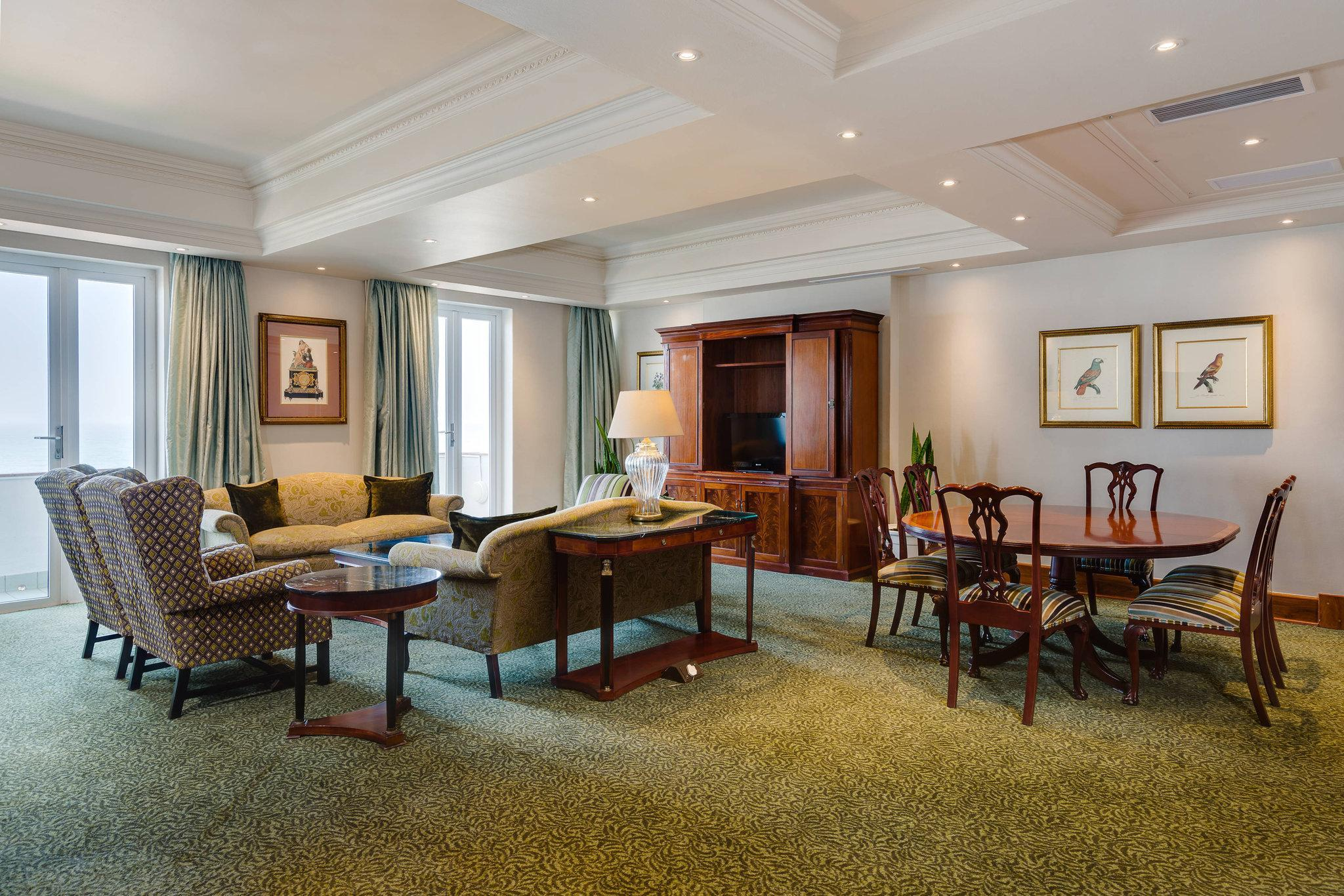 Presidential Suite, 1 King, Sea facing view, Balcony